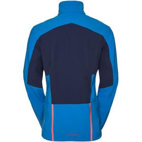 VAUDE Morzine Softshell Jacket Men hydro blue